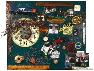 """EYE WITNESS TO HISTORY 1944-2013:  Wars and Remembrance"", Assemblage/Mixed Media; 29X32"""